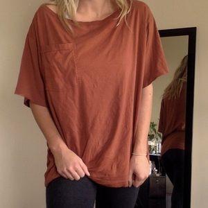 UO oversized boyfriend t shirt